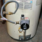 Converting an electric water heater to gas