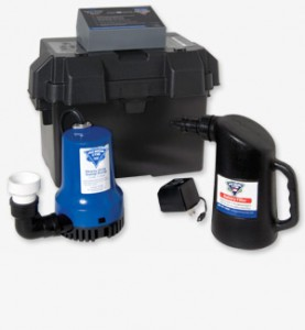 Battery backup sump pump pro series 1730